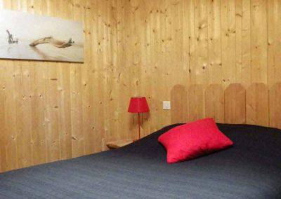 Chambre intérieur bois