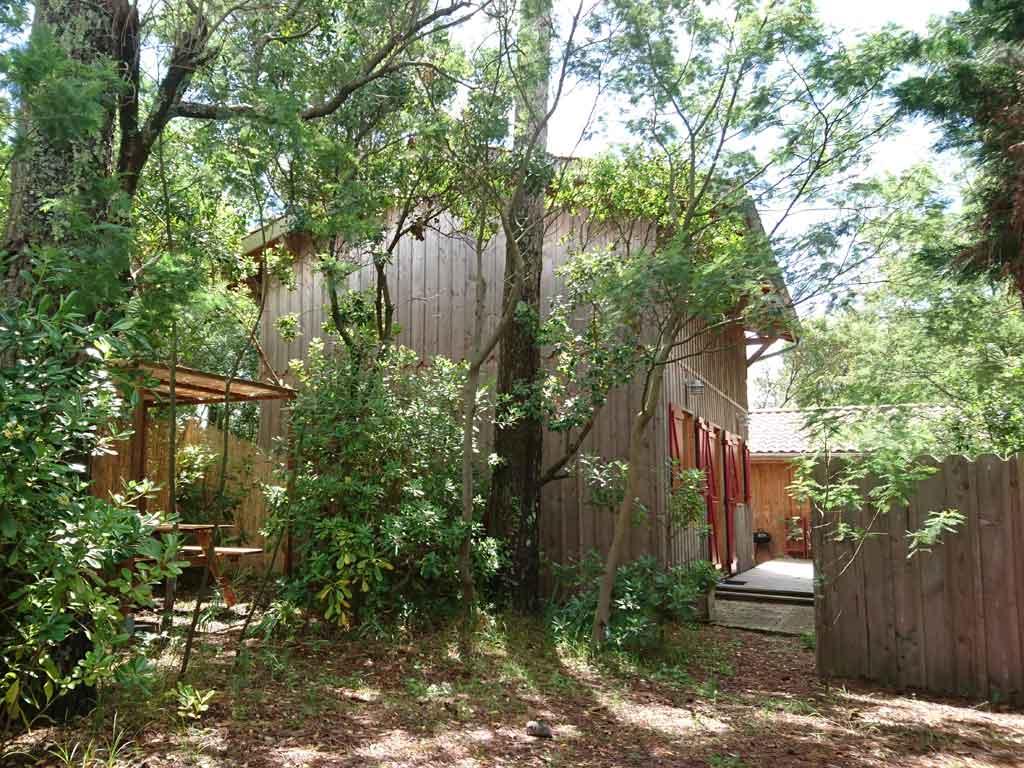 Location saisonnière maison en bois au Cap-Ferret